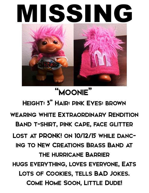 missing moonie