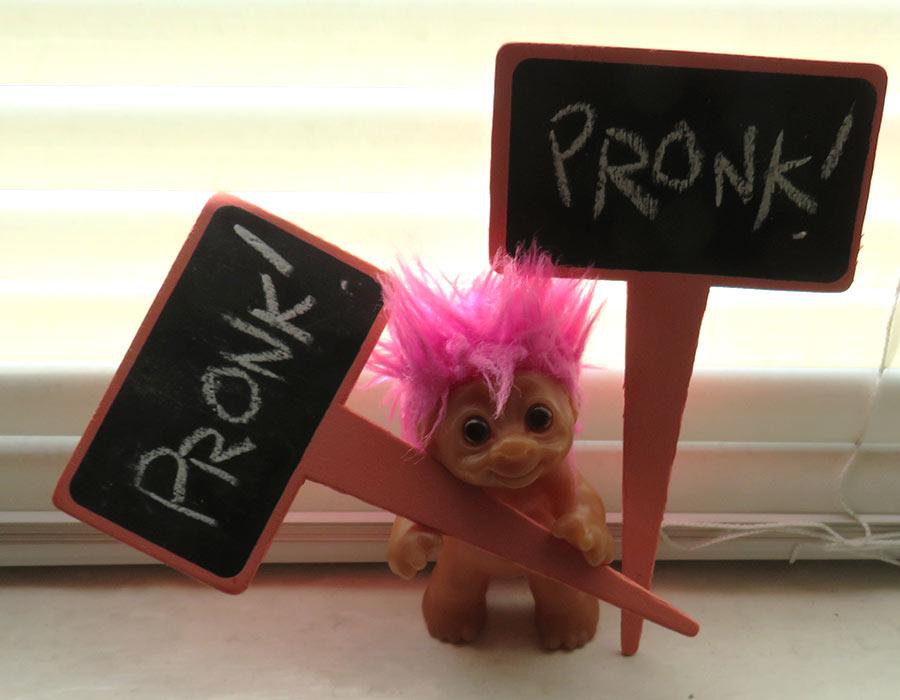 """""""PRONK! PRONK!"""""""