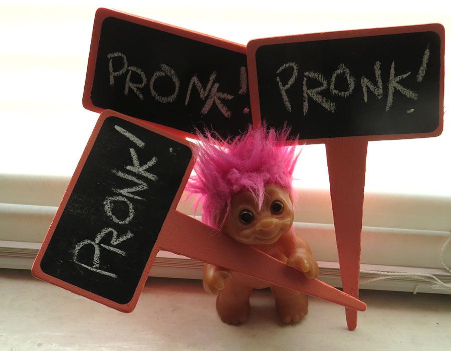 """""""PRONK! PRONK! PRONK!"""""""